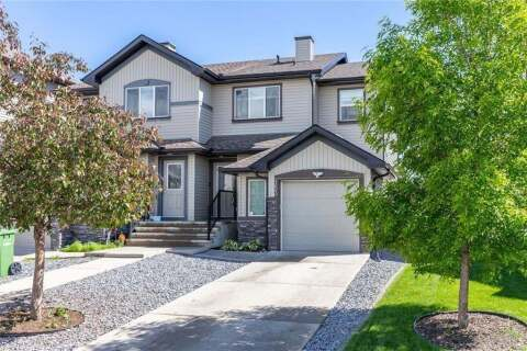 Townhouse for sale at 153 Luxstone Wy SW Airdrie Alberta - MLS: C4303374