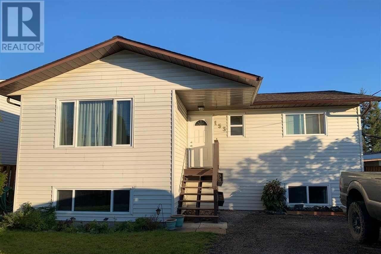 House for sale at 153 Omineca St Vanderhoof British Columbia - MLS: R2507509