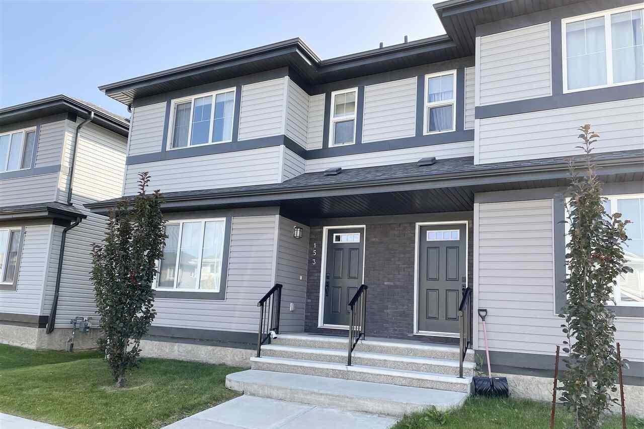 Townhouse for sale at 153 Radcliffe Wd Fort Saskatchewan Alberta - MLS: E4214554