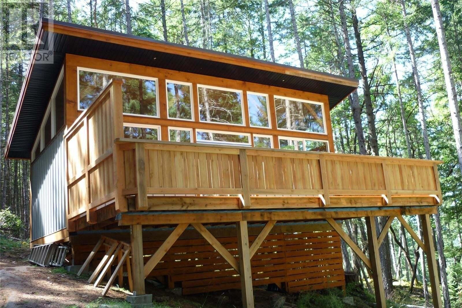 Residential property for sale at 153 Sockeye  Mudge Island British Columbia - MLS: 851761