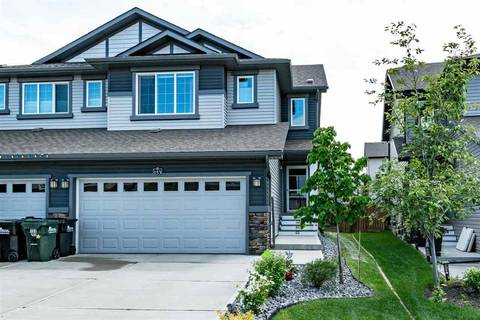 Townhouse for sale at 153 Summerstone Ln Sherwood Park Alberta - MLS: E4161041