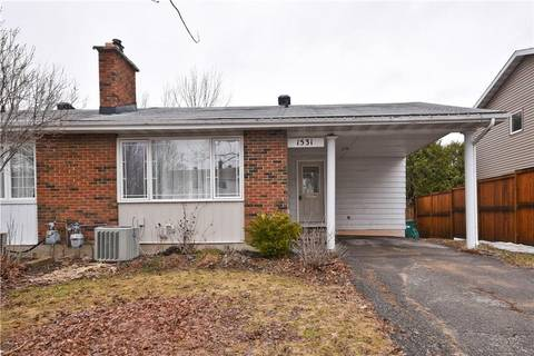 House for sale at 1531 Prestwick Dr Ottawa Ontario - MLS: 1143804