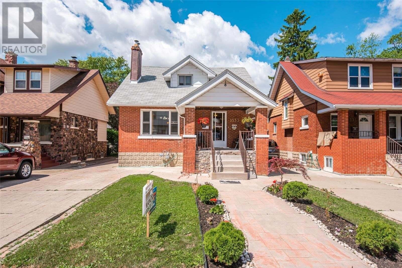 House for sale at 1533 Pelissier St Windsor Ontario - MLS: 20008025