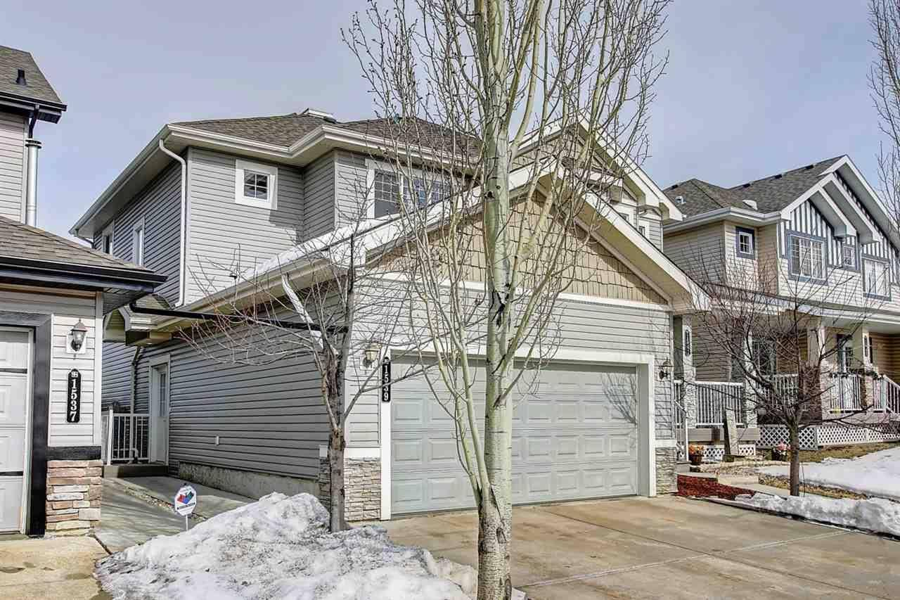 Townhouse for sale at 1539 Rutherford Rd Sw Edmonton Alberta - MLS: E4192704