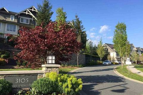 Townhouse for sale at 3105 Dayanee Springs Blvd Unit 154 Coquitlam British Columbia - MLS: R2349341