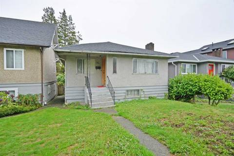 House for sale at 154 63rd Ave E Vancouver British Columbia - MLS: R2408106