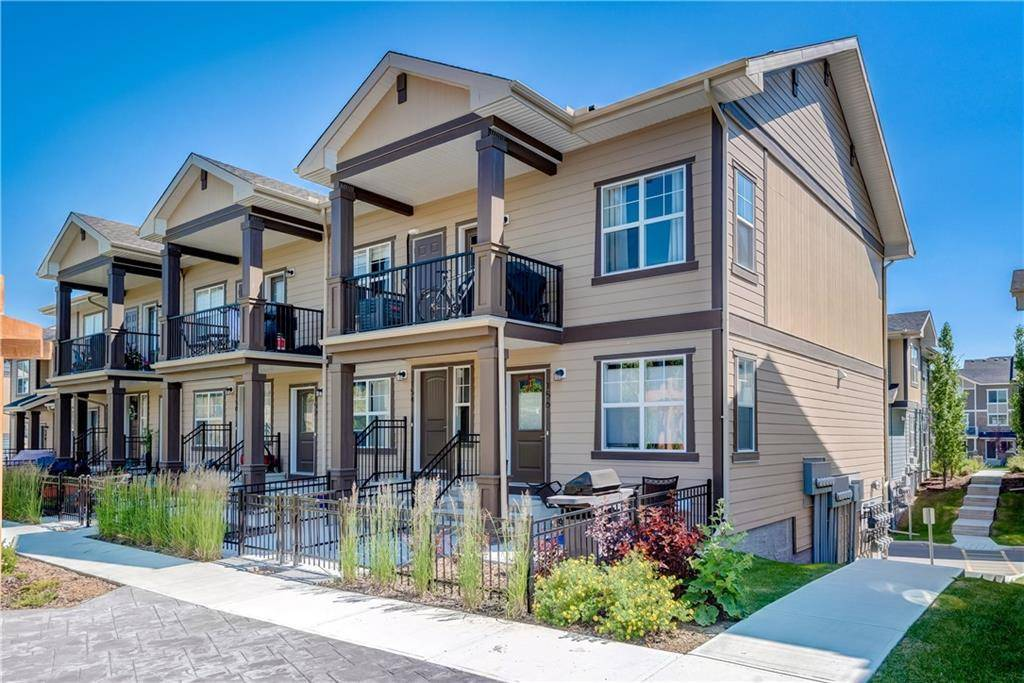 Townhouse for sale at 154 Evanscrest Gdns Nw Evanston, Calgary Alberta - MLS: C4261918