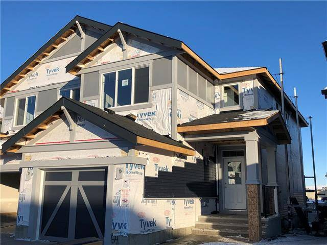 Townhouse for sale at 154 Kingsfisher Cres Southeast Airdrie Alberta - MLS: C4276344