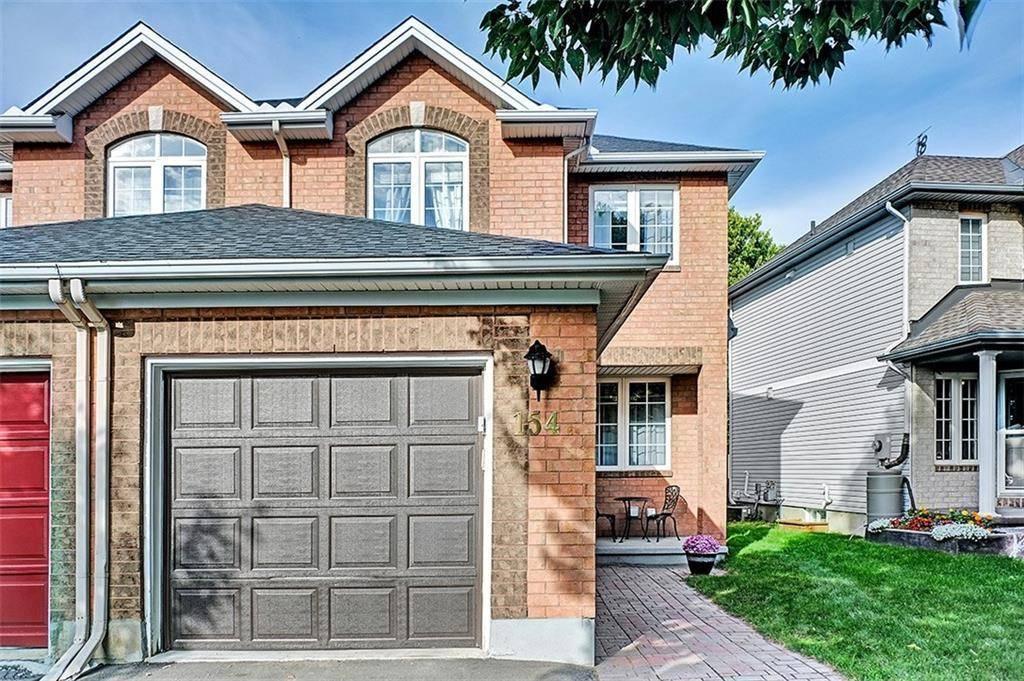 Townhouse for sale at 154 Whitestone Dr Ottawa Ontario - MLS: 1169057