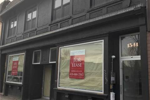 Commercial property for lease at 1544 Danforth Ave Toronto Ontario - MLS: E4755475