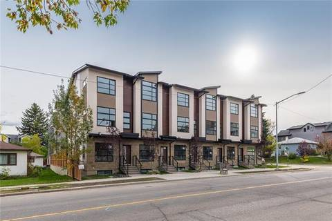 Townhouse for sale at 1545 33 Ave Southwest Unit 1545 Calgary Alberta - MLS: C4256322