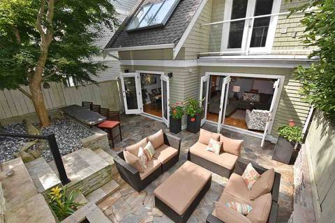 Townhouse for sale at 1545 Trafalgar St Vancouver British Columbia - MLS: R2392914