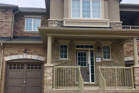 Townhouse for rent at 1547 Carr Landing  Milton Ontario - MLS: W4418798