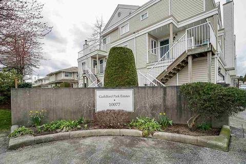 Townhouse for sale at 10077 156 St Unit 155 Surrey British Columbia - MLS: R2447053