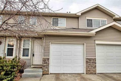 Townhouse for sale at 230 Edwards Dr Sw Unit 155 Edmonton Alberta - MLS: E4151337