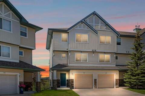 Townhouse for sale at 155 Hidden Creek Cove NW Calgary Alberta - MLS: A1023003