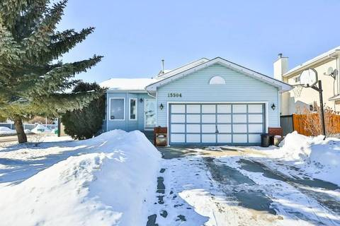 House for sale at 15504 132 St Nw Edmonton Alberta - MLS: E4146924