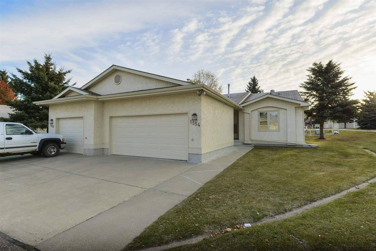 Townhouse for sale at 1554 54 St Nw Edmonton Alberta - MLS: E4176899