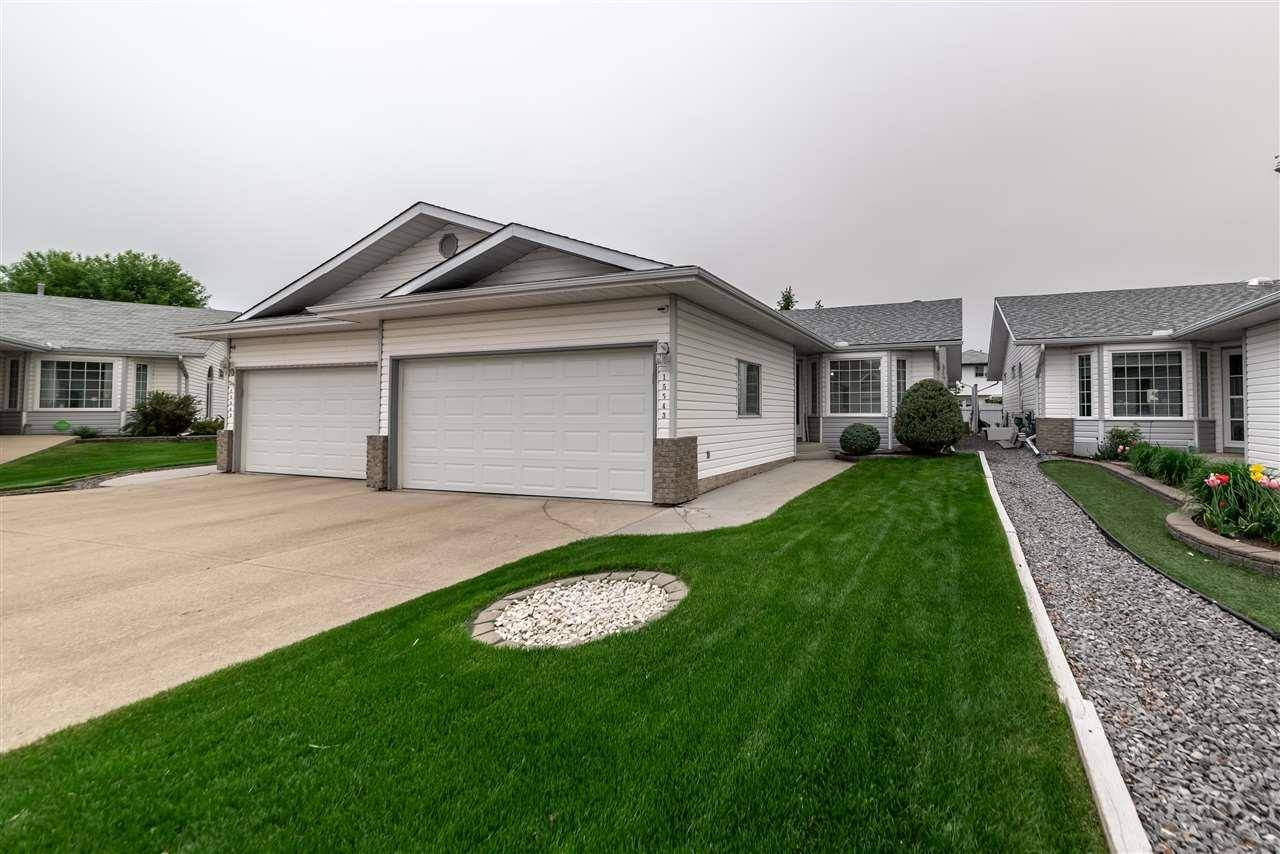 Townhouse for sale at 15543 59a St Nw Edmonton Alberta - MLS: E4159402