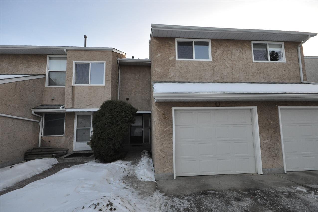 Townhouse for sale at 156 Callingwood Pl NW Edmonton Alberta - MLS: E4224388