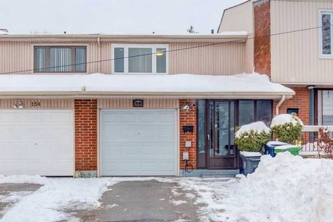 Townhouse for sale at 156 Huntsmill Blvd Toronto Ontario - MLS: E4695649