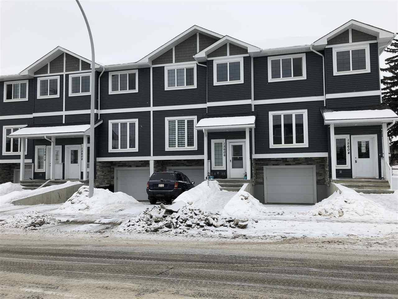 Townhouse for sale at 15604 97 Ave Nw Edmonton Alberta - MLS: E4187510