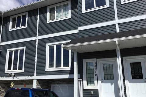 Townhouse for sale at 15610 97 Ave Nw Edmonton Alberta - MLS: E4151783