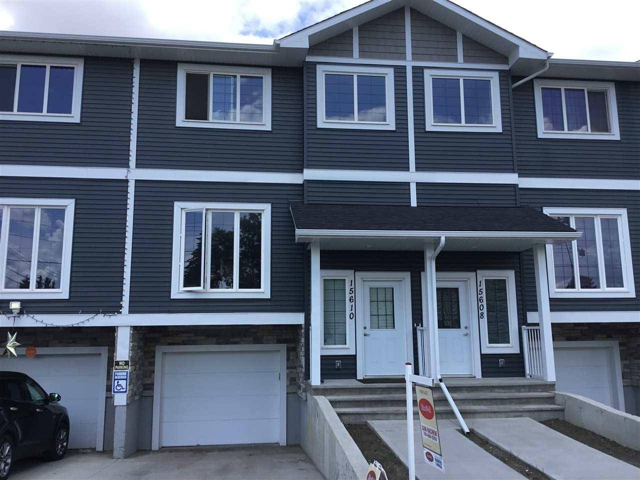 Townhouse for sale at 15610 97 Ave Nw Edmonton Alberta - MLS: E4163866