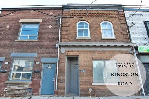 Townhouse for sale at 1563 Kingston Rd Toronto Ontario - MLS: E4672758