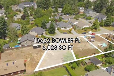 Residential property for sale at 15632 Bowler Pl Surrey British Columbia - MLS: R2384973