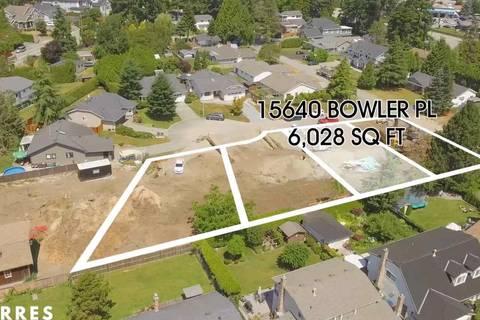 Home for sale at 15640 Bowler Pl Surrey British Columbia - MLS: R2384981
