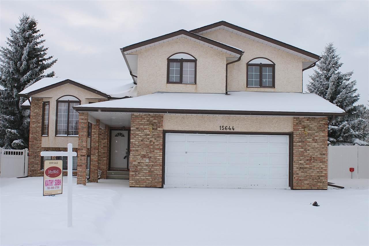 For Sale: 15644 63 Street, Edmonton, AB | 5 Bed, 3 Bath House for $475,000. See 18 photos!