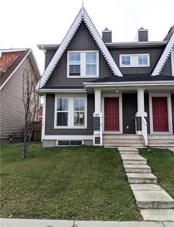 Townhouse for sale at 157 Auburn Bay Blvd Southeast Calgary Alberta - MLS: C4274432