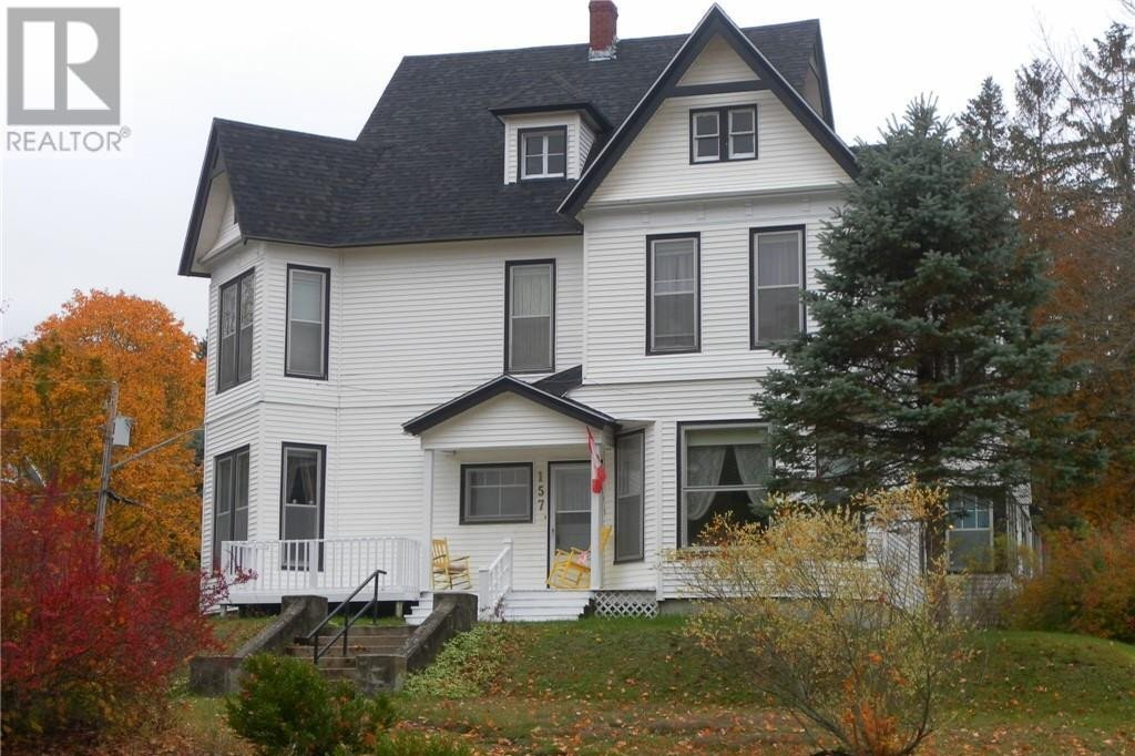 House for sale at 157 Church Ave Sussex New Brunswick - MLS: NB050715