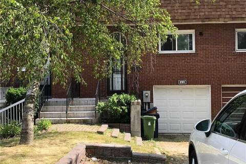Townhouse for sale at 157 Corinthian Blvd Toronto Ontario - MLS: E4516398