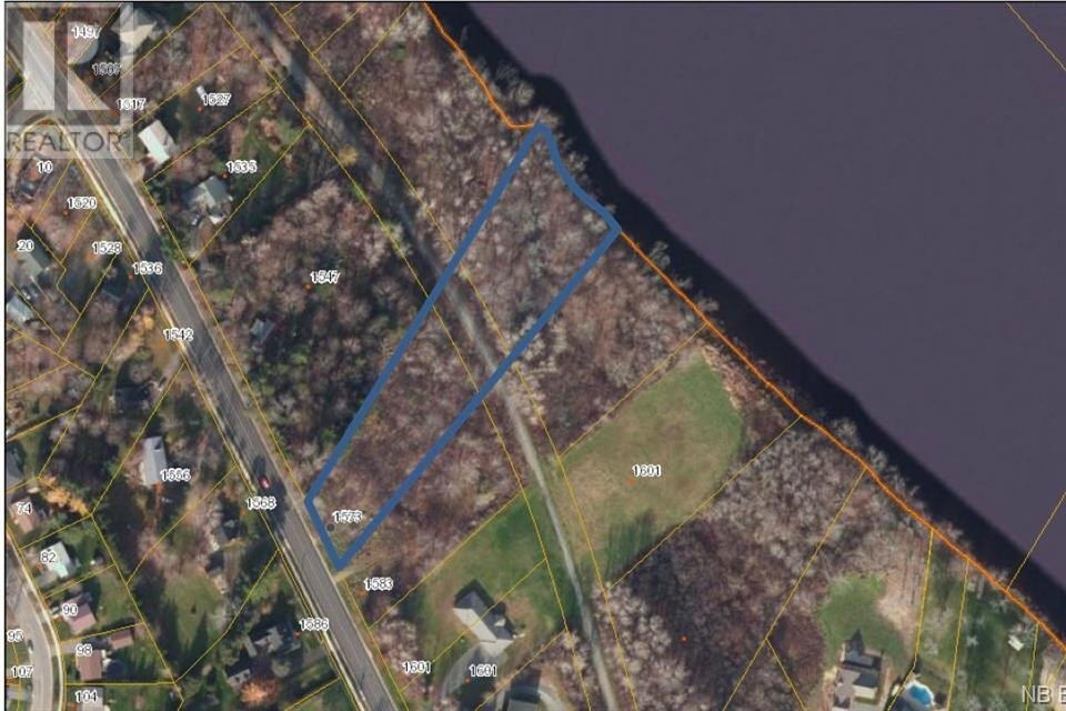 Residential property for sale at 1573 Lincoln Rd Fredericton New Brunswick - MLS: NB046825