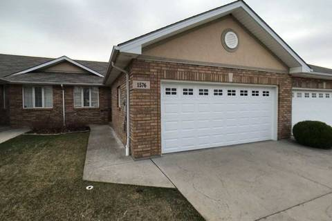 Townhouse for sale at 1576 Blue Heron Dr Windsor Ontario - MLS: X4423140
