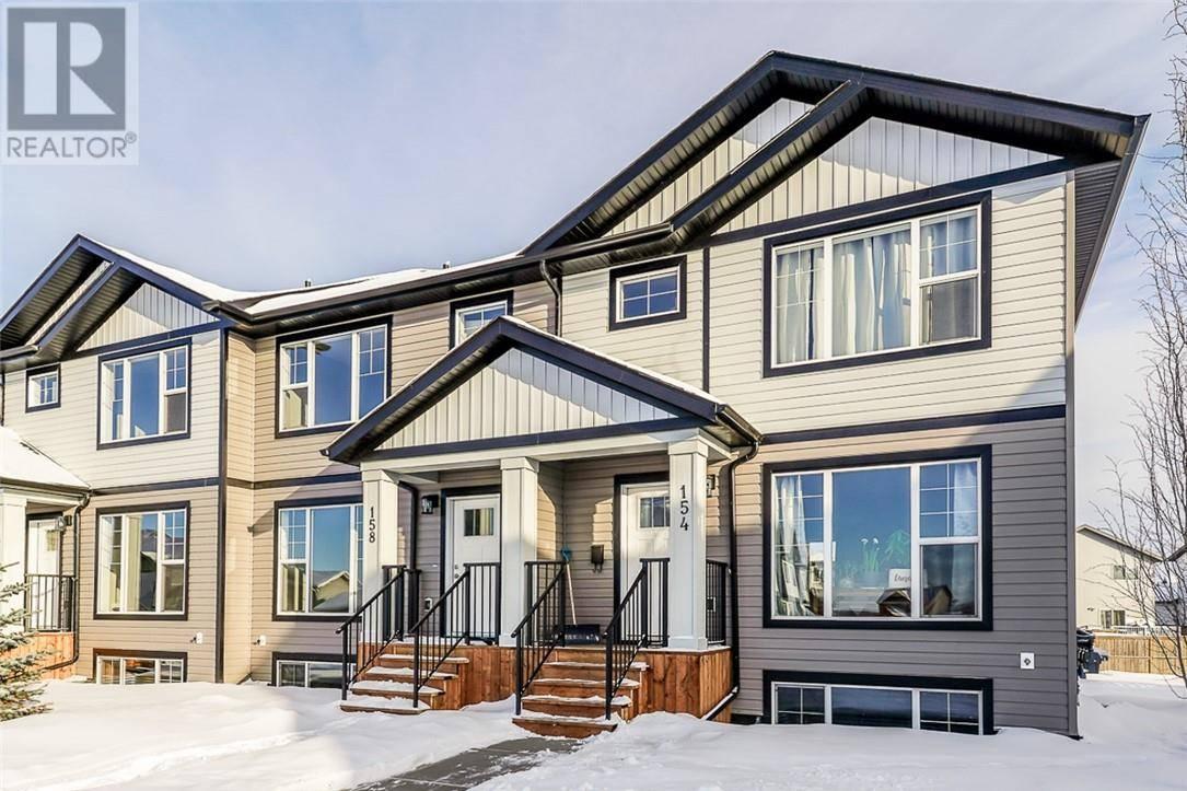 Townhouse for sale at 158 Ava Cres Blackfalds Alberta - MLS: ca0183934