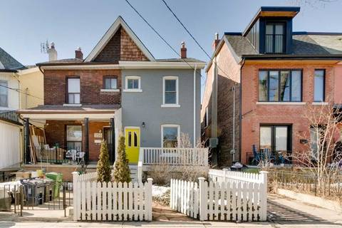 Townhouse for sale at 158 Bellwoods Ave Toronto Ontario - MLS: C4699881