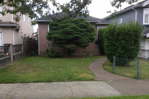 House for sale at 158 61st Ave E Vancouver British Columbia - MLS: R2378070