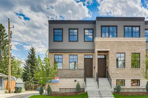 Townhouse for sale at 1581 38 Ave Southwest Calgary Alberta - MLS: C4252799