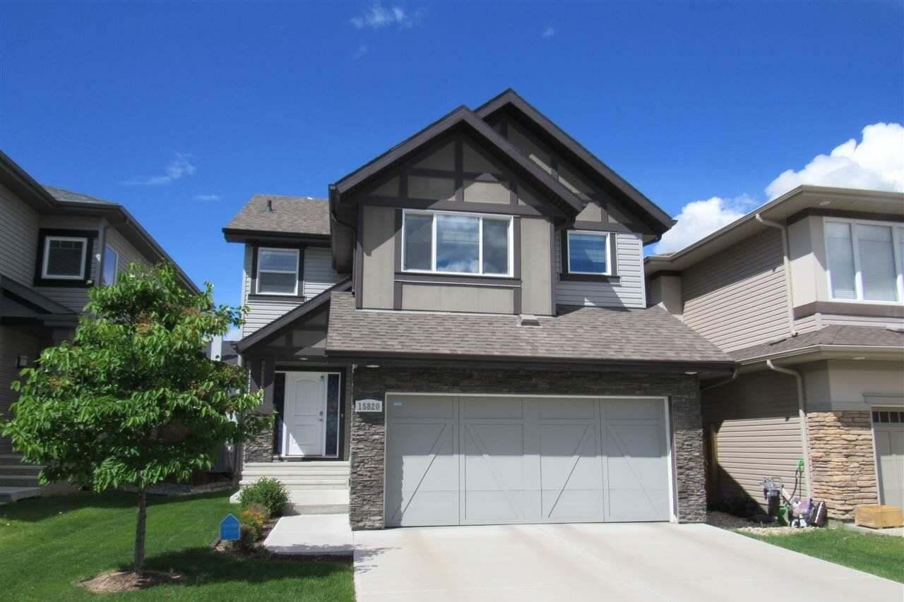 House for sale at 15820 11 Av SW Edmonton Alberta - MLS: E4200428