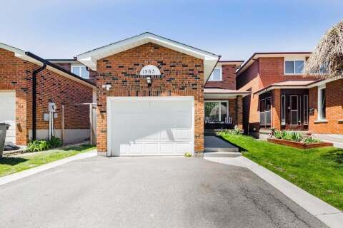House for sale at 1583 Shale Oak Me Mississauga Ontario - MLS: W4768006