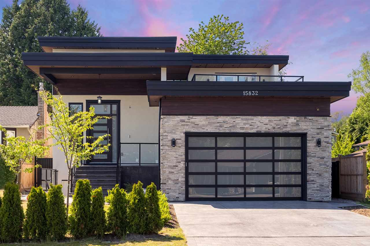 For Sale: 15832 Prospect Crescent, White Rock, BC | 6 Bed, 6 Bath House for $2,498,000. See 20 photos!