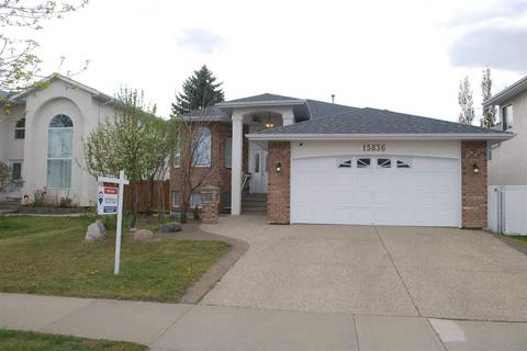 House for sale at 15836 88 St Nw Edmonton Alberta - MLS: E4150500