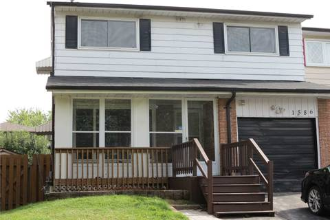 Townhouse for sale at 1586 Jaywin Circ Pickering Ontario - MLS: E4752434
