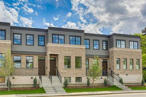 Townhouse for sale at 1587 38 Ave Southwest Calgary Alberta - MLS: C4252805