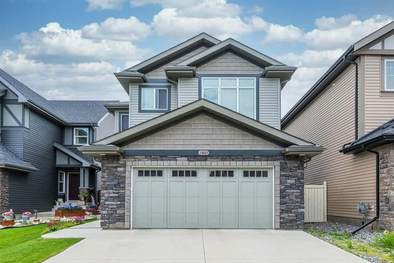 House for sale at 15883 13 Av SW Edmonton Alberta - MLS: E4207020