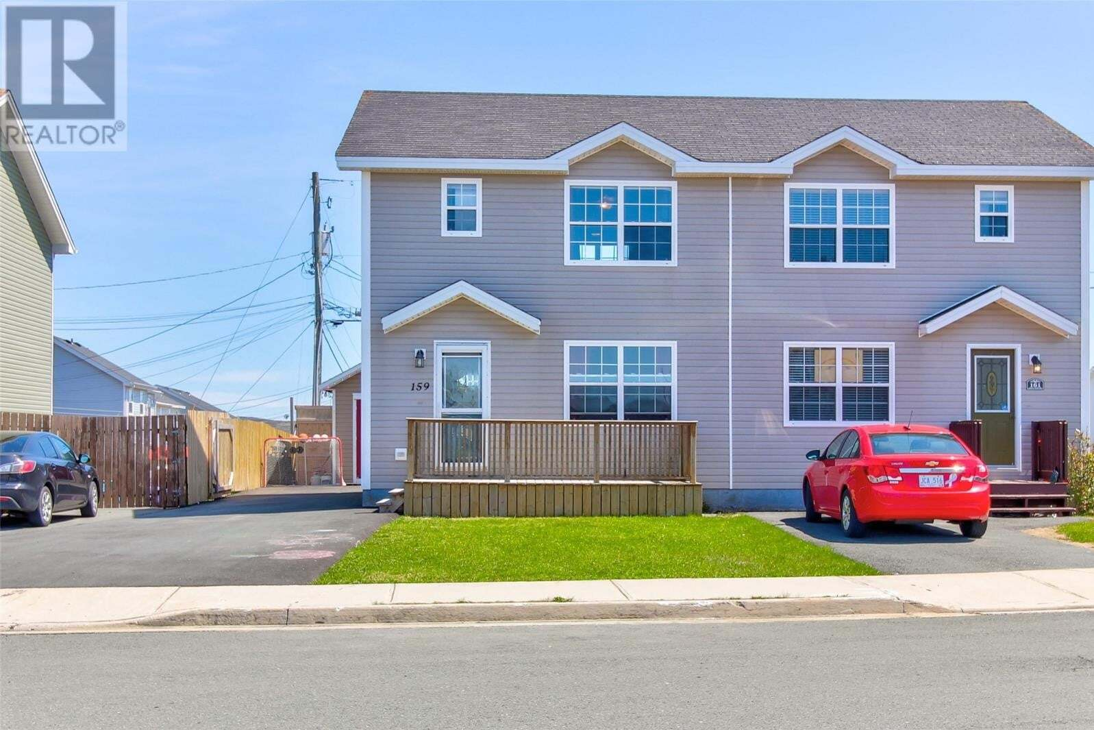 House for sale at 159 Green Acre Dr St. John's Newfoundland - MLS: 1214139