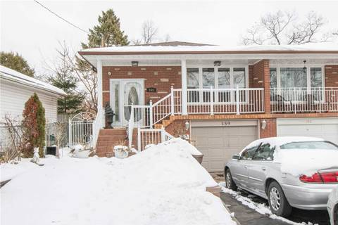 Townhouse for rent at 159 South Woodrow Blvd Toronto Ontario - MLS: E4648272